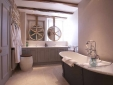 The Wheatsheaf Inn Northleach Gloucestershire England Bathroom