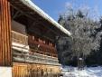 Schindelhaus im Winter
