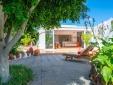 Finca Botanico Secret Garden apartment is full of tropical plants