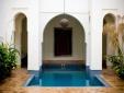 Riyad El Cadi Hotel Marrakesch boutique - Blaues Haus