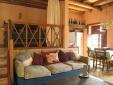 Living room in casa Isidora