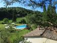 Pool view Agriturismo L´Ariete